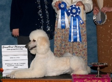 Abby wins her first 'High in Trial' title.